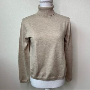 Pendleton Turtleneck Merino Wool Sweater
